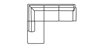 Kreta RHF Arm 3 Seater Open End Corner