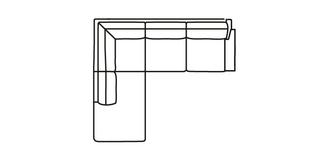 Kreta RHF Arm 2.5 Seater Open End Corner