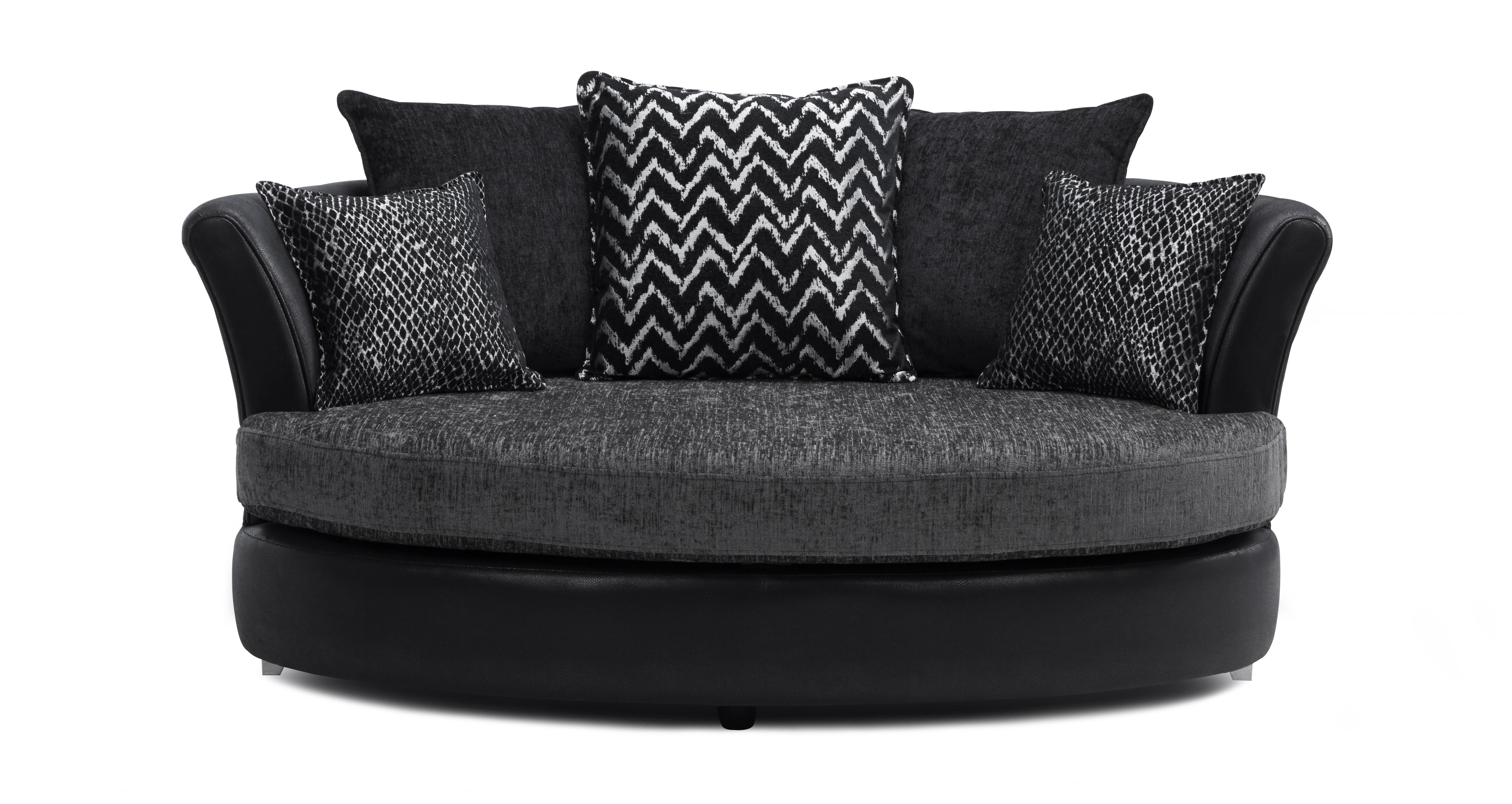 Black Leather Cuddler Sofa Review Home Co