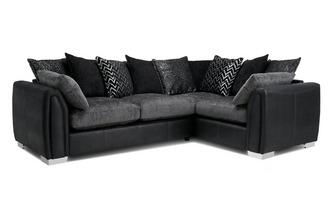 Krypton Formal Back Right Hand Facing Corner Deluxe Sofa Bed ...