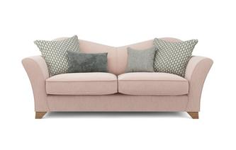 Lacey Plain 3 Seater Sofa Lacey