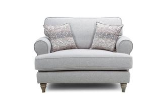 Formal Back Cuddler Sofa Langfield