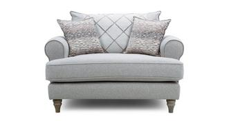Langfield Pillow Back Cuddler Sofa