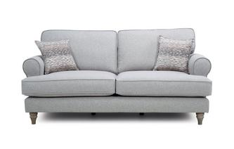 Formal  Back 3 Seater Sofa Langfield