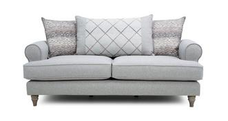Langfield Pillow Back 3 Seater Sofa