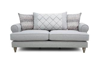 Pillow Back 3 Seater Sofa Langfield