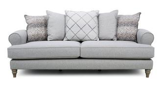 Langfield Pillow Back 4 Seater Sofa