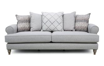 Pillow Back 4 Seater Sofa Langfield