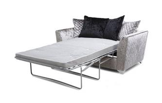 2 Seater Pillow Back Deluxe Sofa Bed Krystal