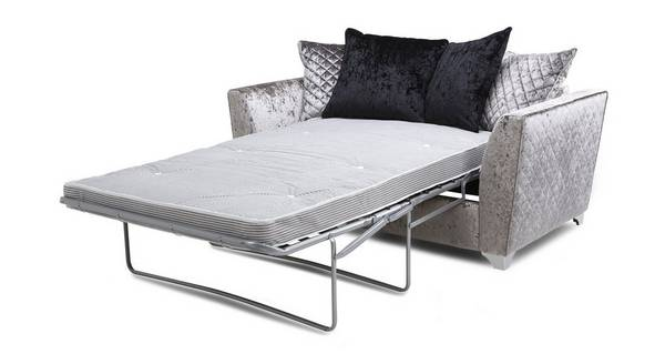 Lanson 2 Seater Pillow Back Deluxe Sofa Bed