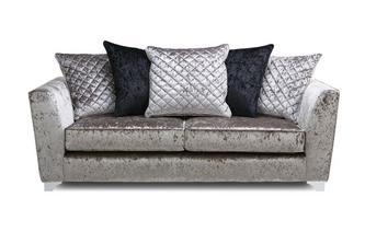 3 Seater Pillow Back Sofa Krystal