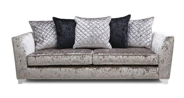 Lanson 4 Seater Pillow Back Sofa