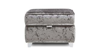 Lanson Plain Top Storage Footstool