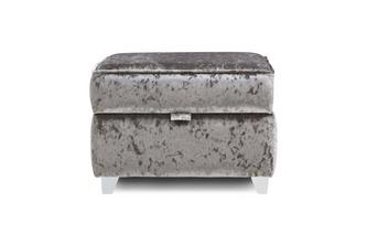 Plain Top Storage Footstool Krystal