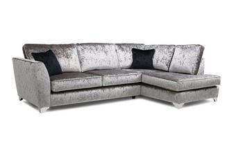 Left Hand Facing Formal Back Corner Sofa Krystal
