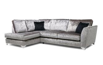 Right Hand Facing Formal Back Corner Sofa Krystal