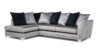 Lanson Right Hand Facing Pillow Back Corner Sofa