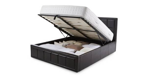 Lara Double Storage Bedframe
