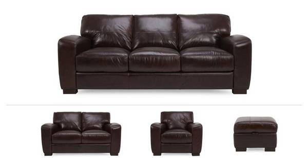 Laurant Clearance 3 Seater Sofa, 2 Seater, Chair & Stool