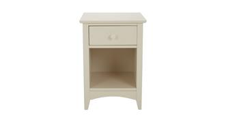 Laurence 1 Drawer Bedside Table