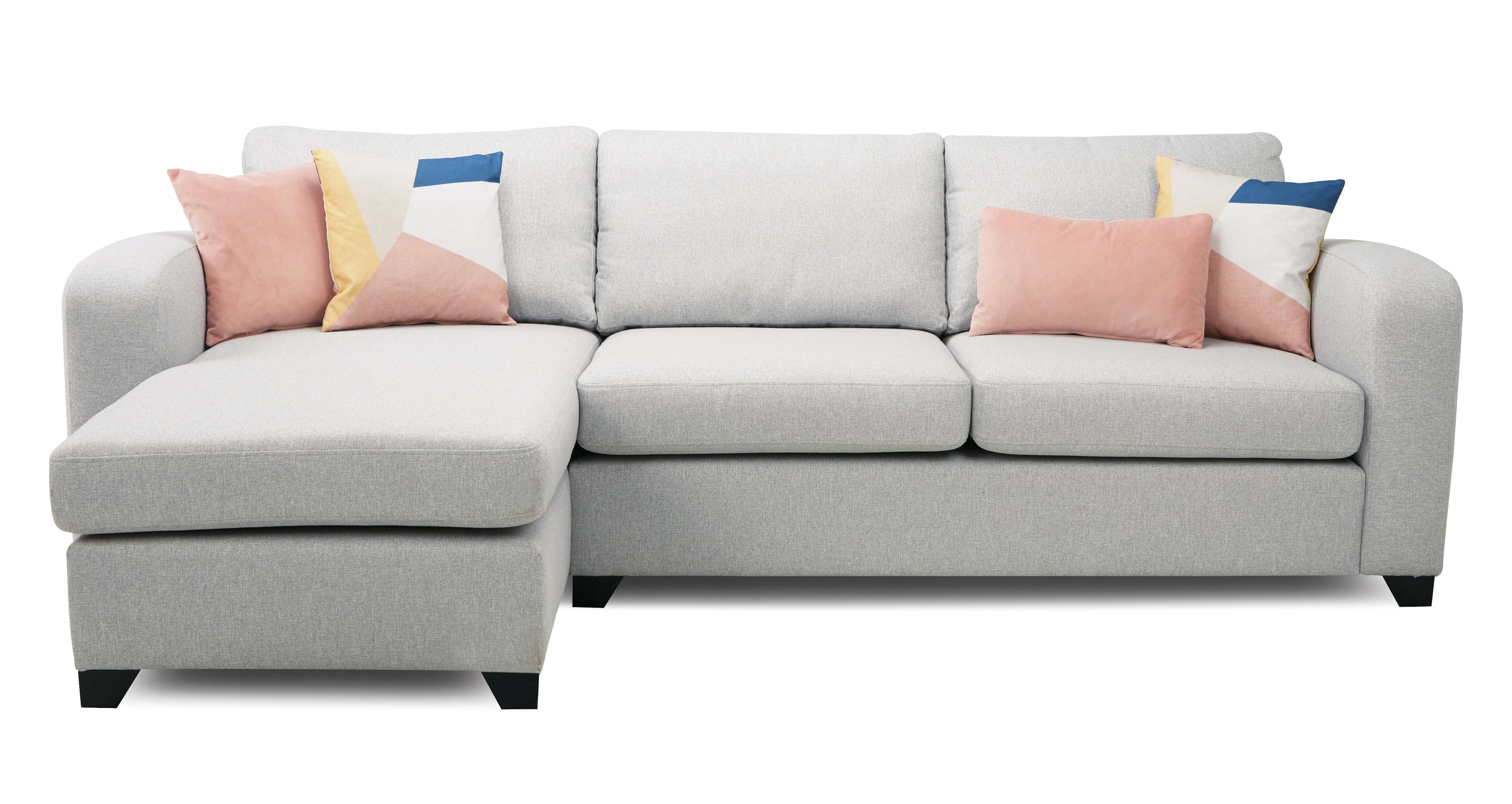 Layla Left Hand Facing Chaise End 3 Seater Sofa Layla