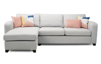 Left Hand Facing Chaise End 3 Seater Supreme Sofa Bed