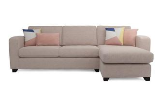 Casual Right Hand Facing Chaise End 3 Seater Supreme Sofa Bed