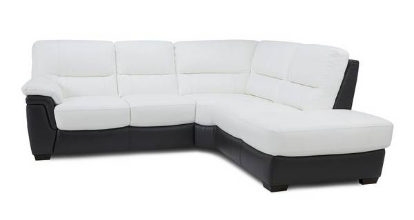 Lazaro Option A Left Hand Facing Arm 2 Piece Corner Sofa