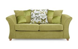 Lelani 2 Seater Pillow Back Deluxe Sofa Bed Lelani