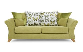 Lelani 3 Seater Pillow Back Sofa Lelani