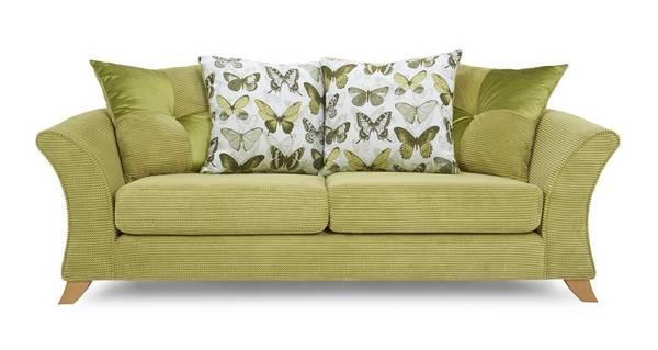 Lelani 3 Seater Pillow Back Sofa