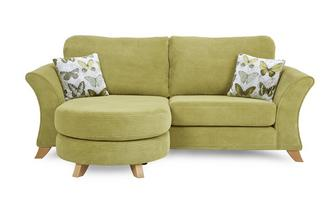 Lelani 3 Seater Formal Back Lounger Sofa Lelani