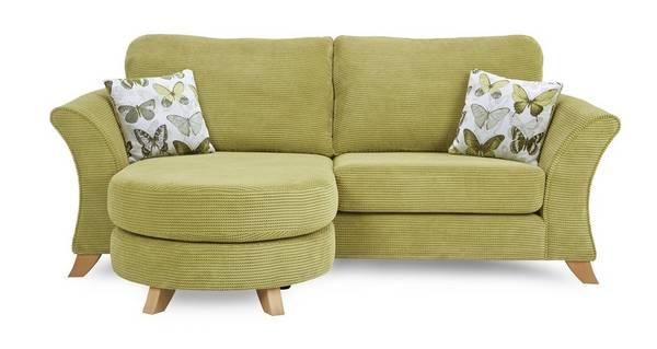 Lelani 3 Seater Formal Back Lounger Sofa