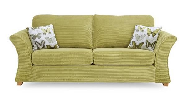 Lelani 3 Seater Formal Back Sofa Bed