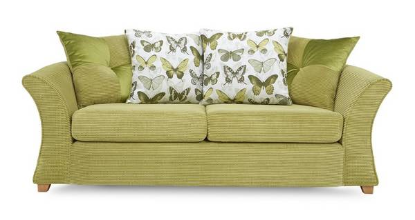 Lelani 3 Seater Pillow Back Deluxe Sofa Bed