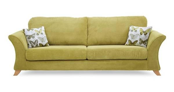 Lelani 4 Seater Formal Back Sofa