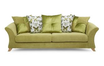 Lelani 4 Seater Pillow Back Sofa Lelani
