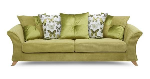 Lelani 4 Seater Pillow Back Sofa