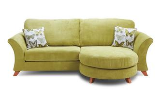 Delightful 4 Seater Formal Back Lounger Sofa