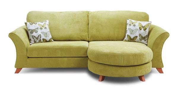 Lelani 4 Seater Formal Back Lounger Sofa
