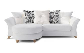 Lelani 4 Seater Pillow Back Lounger Sofa Lelani