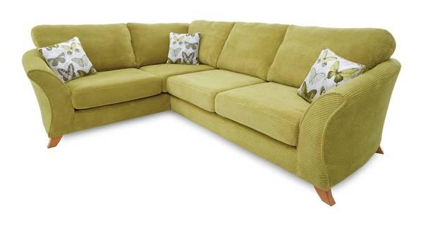 Lelani Right Hand Facing 3 Seater Formal Back Corner Sofa