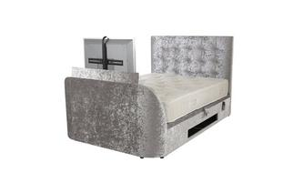 Double (4ft 6) Ottoman TV Bedframe Opulent