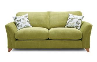 Formal Back 3 Seater Sofa Leonie