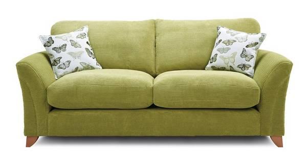 Leonie Formal Back 3 Seater Sofa