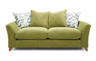 Pillow Back 3 Seater Sofa Leonie
