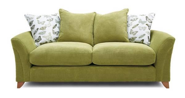 Leonie Pillow Back 3 Seater Sofa