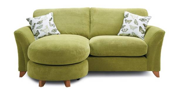 Leonie Formal Back 3 Seater Lounger Sofa