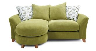 Leonie Pillow Back 3 Seater Lounger Sofa