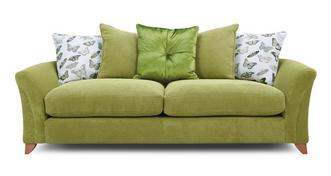 Leonie Pillow Back 4 Seater Sofa